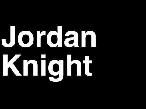 How to Pronounce Jordan Knight New Kids on the Block NKOTB Music Video Songs Lyrics Tour Interview