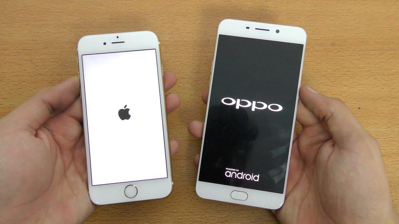 Oppo F1 Plus 4GB RAM Vs IPhone 6S