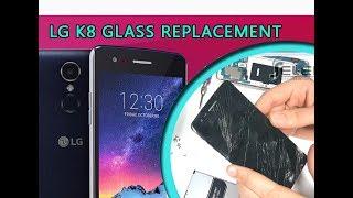 LG K8 2017 (M200n) Glass Touch Only Replacement Tutorial / Ersatz von Glasscheibe