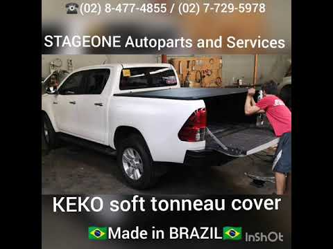 Keko Soft Tonneau Cover for Toyota Hilux 2018