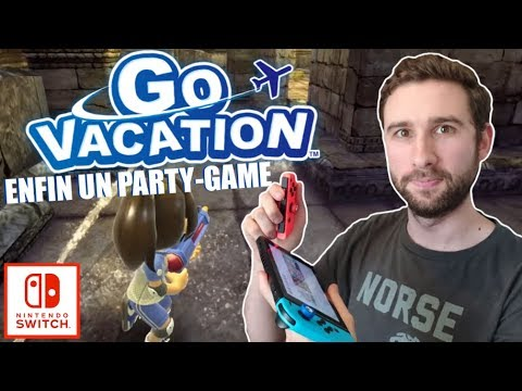 ENFIN UN PARTY GAME sur NINTENDOSWITCH ! | GO VACATION : TRAILERS & GAMEPLAY !