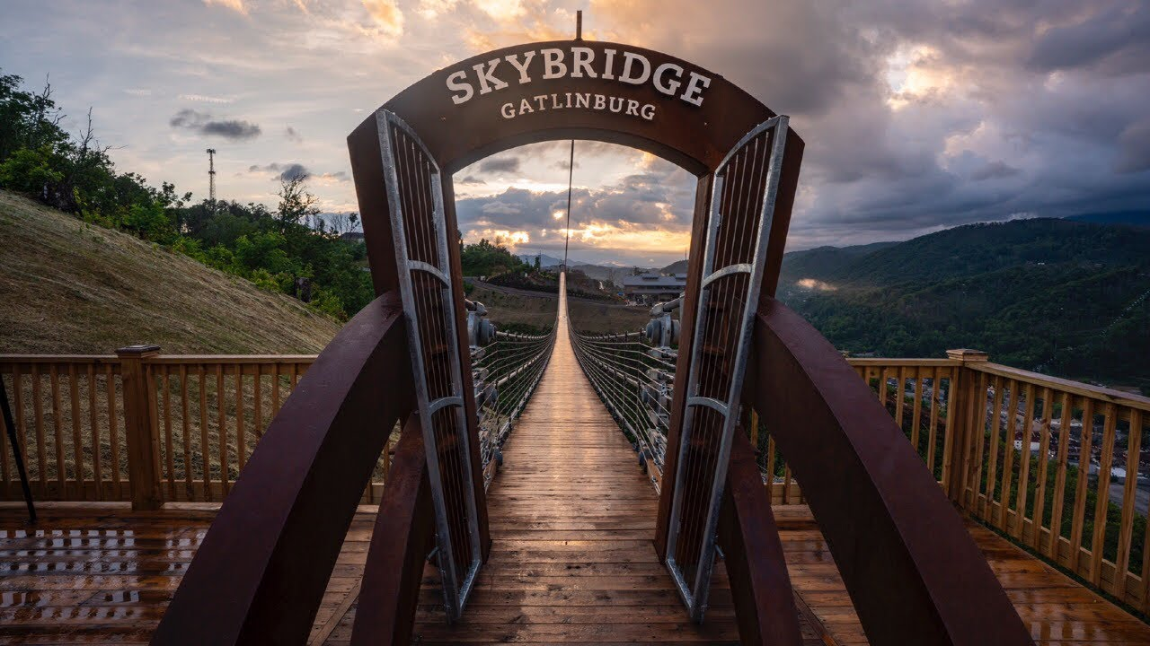 Gatlinburg Sky Bridge Gatlinburg Tennessee