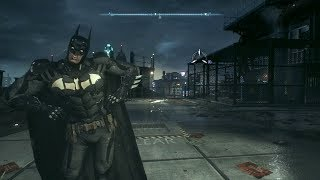 Batman, but he (mostly) fights like Harley Quinn (Batman: Arkham Knight animation swap mod)