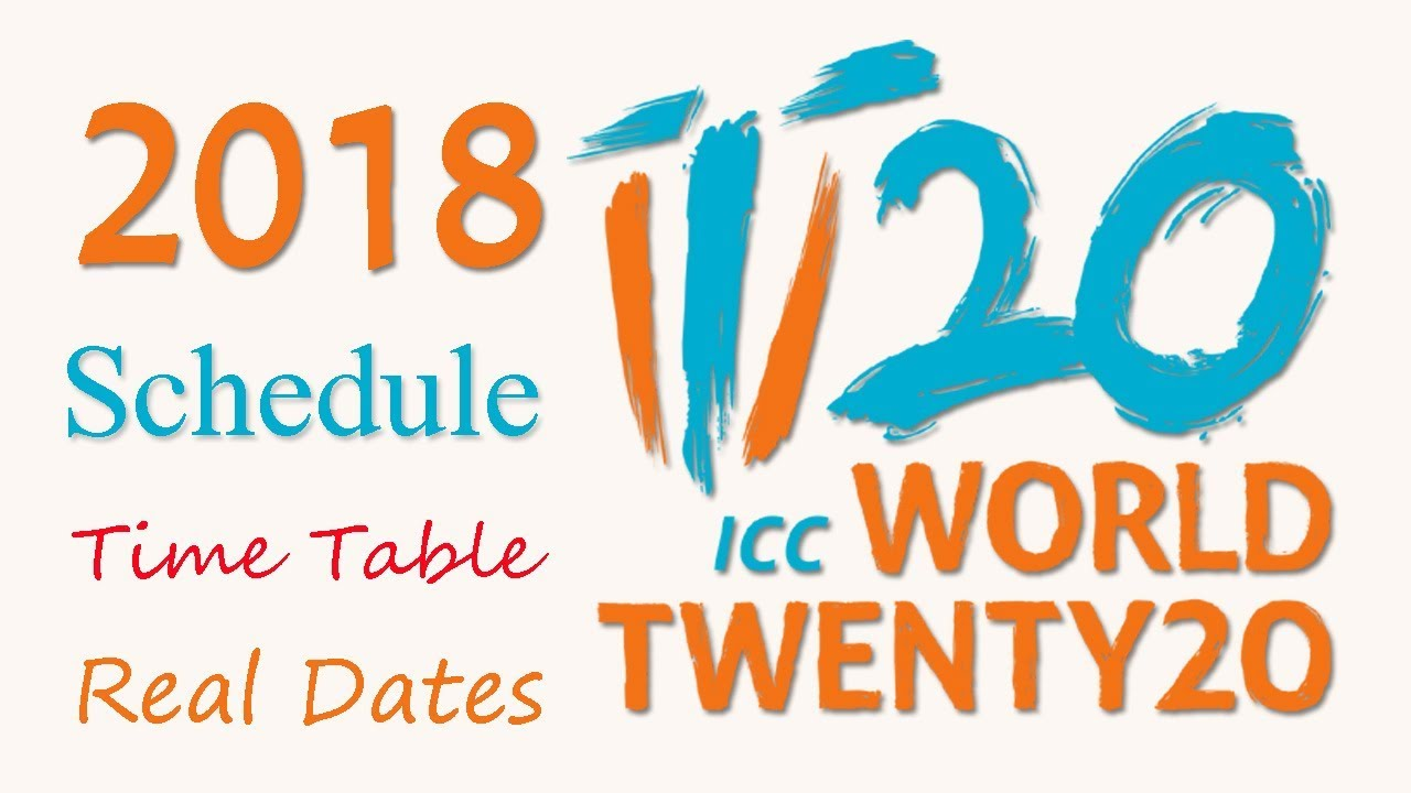 T20 World Cup Schedule Pdf