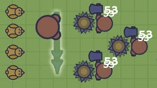 NEW INVISIBLE SPEAR WEAPON UPDATE IN MOOMOO.IO!! | NEW DUCKS AND SPINNING SPIKES | Moomoo.io funny