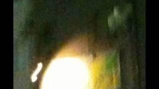 皆既月食の前夜に撮影した心霊写真。 雪見大福のようになった月と、巨大な黄色いチューリップの光花が出現! 上下の窓には、数多くの西洋風...