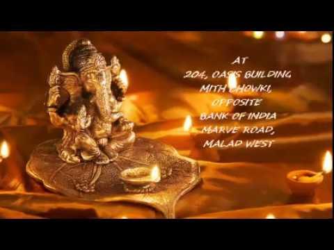 Ganapati Invitation Ganesh Chaturthi Mumbai Festival Lord Ganesha