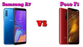 Samsung Galaxy A7 vs Poco F1 Comparison || Specs and Features Overview || AS Talent Zone