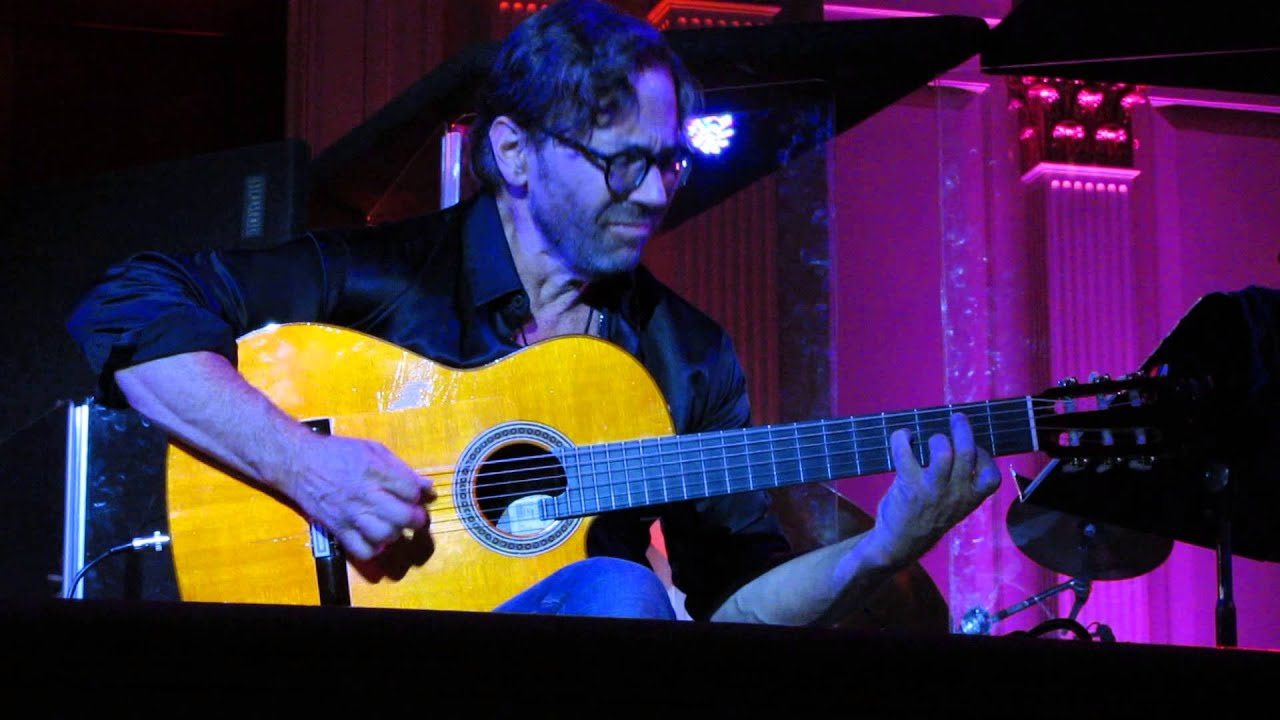 Al Di Meola - 2/26/15 - Final Electric Tour - Acoustic set - Sixth & I Historic Synagogue - DC