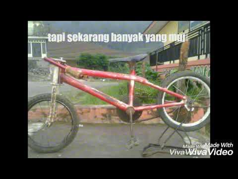 Gambar Modifikasi Sepeda Ontel Drag Pembuatan Rangka Sepeda Drag Bike Wadukek Youtube