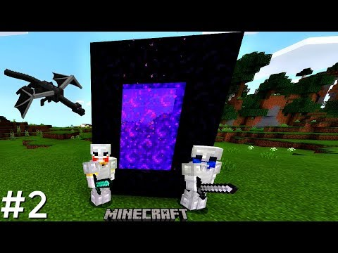 ROAD TO DEFEATING THE ENDER DRAGON IN MINECRAFT WITH MY BRO! (PART #2)