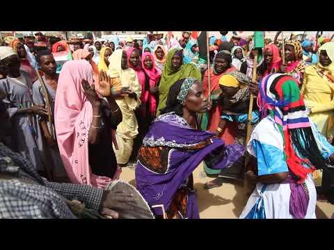 Tribal Dances in Zalingei زالنجي/Central Darfur ولاية وسط دارفور/The Sudan السودان on 03 April 2016