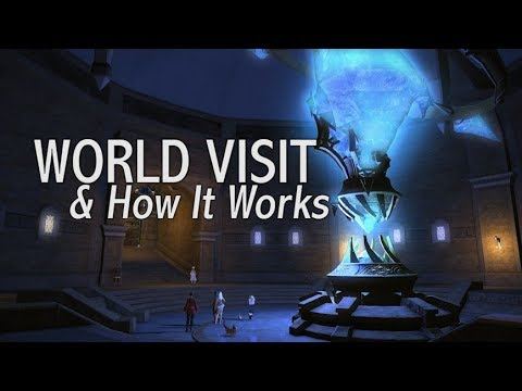 FFXIV: World Visit System & How It Works