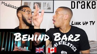 Drake - Behind Barz | Link Up TV - REACTION!