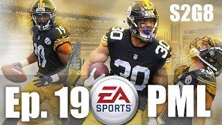 Pittsburgh Steelers PML Madden 20 Online Franchise | Ep. 19 Season 2 Game 8
