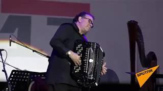 Виртуоз аккордеона Ришар Гальяно выступил на Baku Jazz Festival 2017