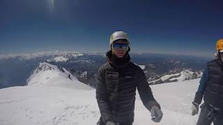 Mont Blanc (4810m) Ascent July 2017