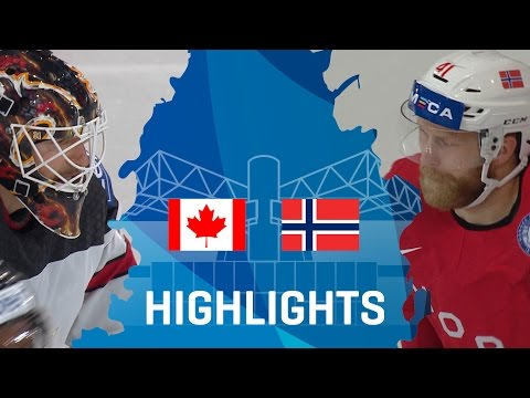 Canada - Norway | Highlights | #IIHFWorlds 2017