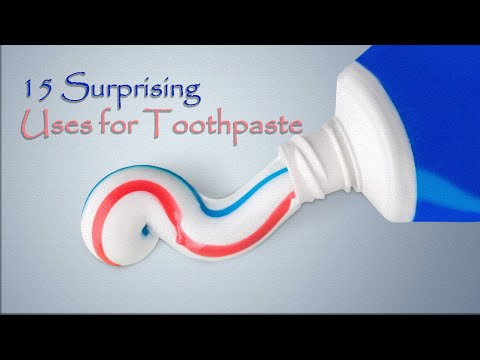 15 Surprising Uses for Toothpaste