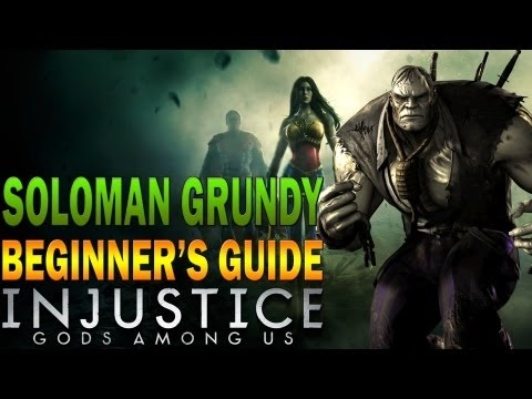 SOLOMON GRUNDY Beginner's Guide - Injustice: Gods Among Us - All You Need To Know!
