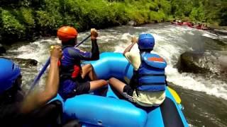 Sobek Rafting - White Water Rafting In Bali - HD 720p