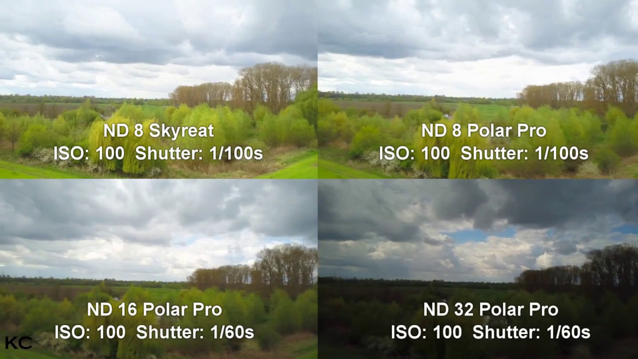 DJI MAVIC PRO - ND FILTER COMPARISON - Skyreat vs. PolarPro (Full HD ...