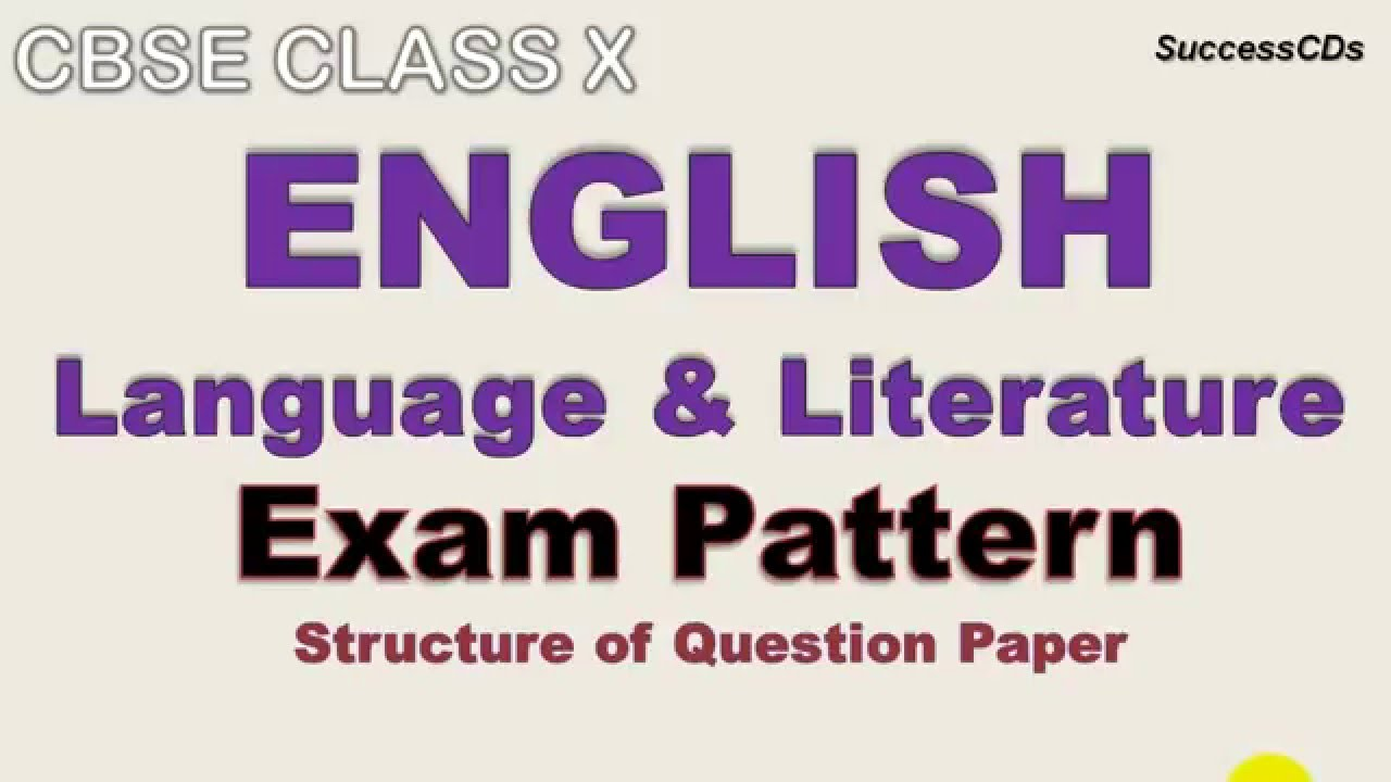 english language and literature question paper Answer all the questions on the question paper 4 pay special attention to spelling and sentence adapted from: igcse first language english workbook.