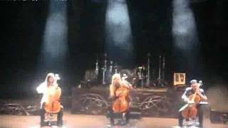 Apocalyptica - Nothing Else Matters (Metallica Cover) (Live in Bogotá, Colombia - 2012)