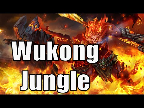 League of Legends - Volcanic Wukong - Jungle - IM BACK