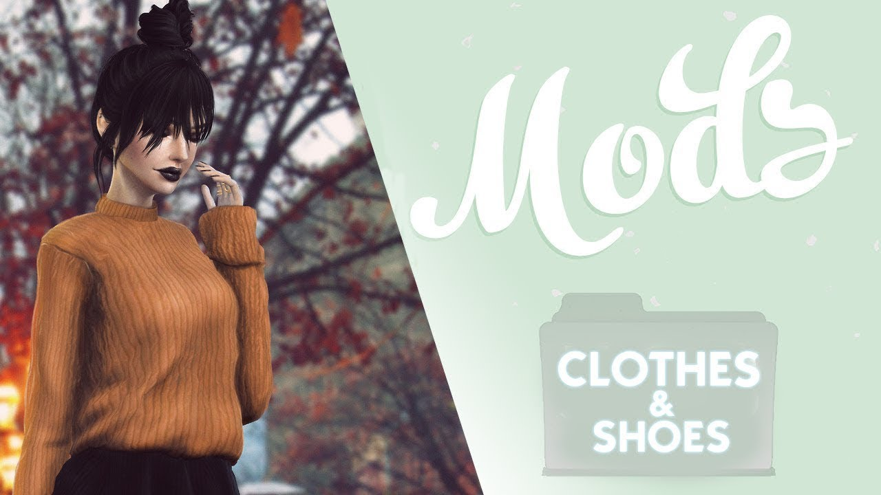 Mods Cc Clothes And Shoes Pack Folder Free Download The Sims 4 1