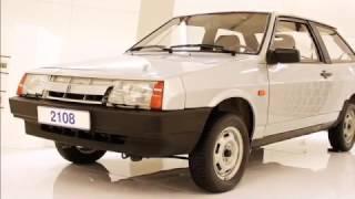 видео История разработки ВАЗ 2108