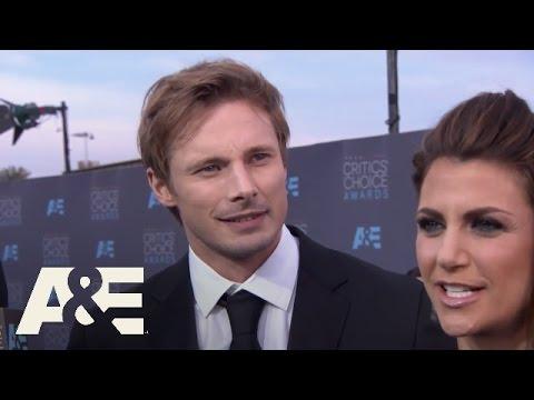 Bradley James on the Red Carpet  2016 Critics' Choice Awards  A&E