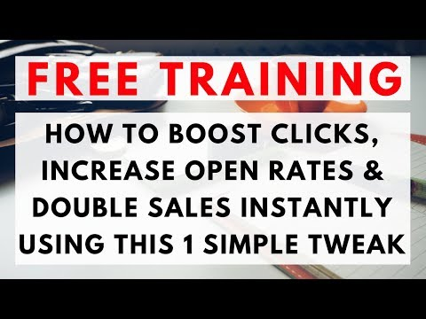 Email Marketing Strategy: How to BOOST Clicks, INCREASE Open Rates & IMPROVE Sales INSTANTLY - Guide