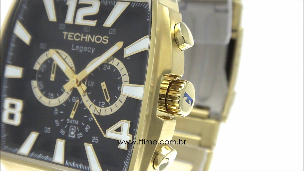 190468963e Relógio Technos Legacy JS25AR 1D - YouTube