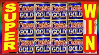 ** SUPER BIG WIN ** CLEOPATRA GOLD ** NEW GAME ** SLOT LOVER **