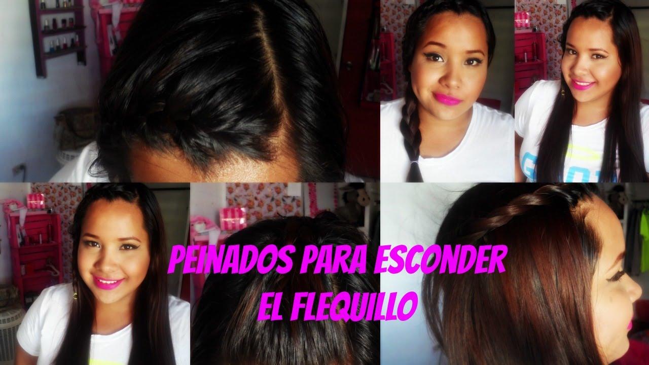 Peinados Para Esconder El Flecoflequillopollina Youtube - Peinados-para-el-flequillo