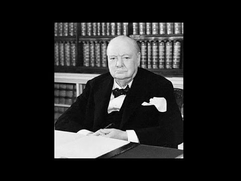 Вспоминая Черчилля - le mag