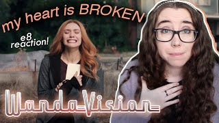 so we're all CRYING right now, right?! | wandavision episode 8 reaction & commentary 😭