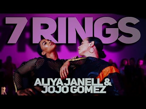 7 Rings   Ariana Grande   Aliya Janell & Jojo Gomez collab   #QueensNLettos #QueenNQueen