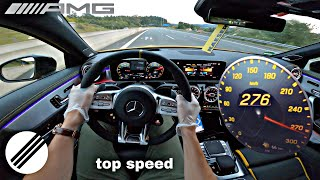 Mercedes-Benz A-Class A45 S AMG 421HP TOP SPEED DRIVE ON GERMAN AUTOBAHN 🏎