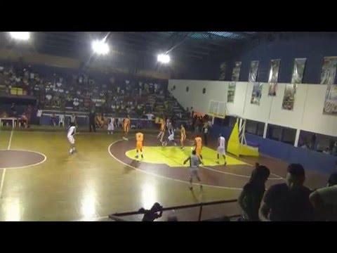 Liga Nacional de Baloncesto. Final 2da División Aragüeños B.B.C. Vs Cangrejeros. Juego N°2 en Irapa