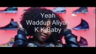 Aliyah ft. keizer Shop-a-holic lyrics