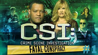 CSI Las Vegas Fatal Conspiracy - Walkthrough #1 (Case One)