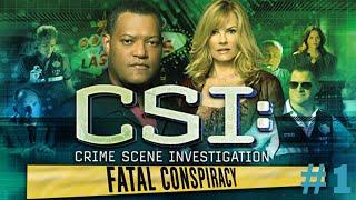 CSI Las Vegas Fatal Conspiracy - Walkthrough #1 (Case One)