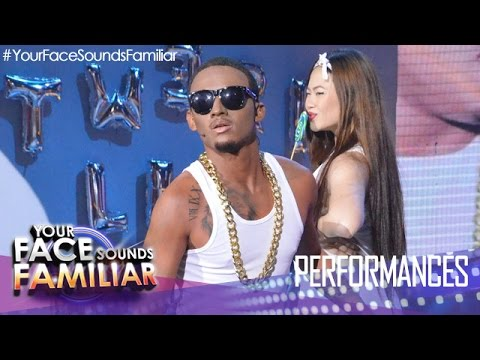 Your Face Sounds Familiar: Michael Pangilinan as Brandon Beal -