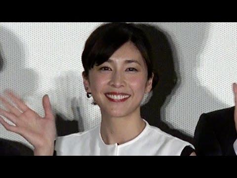 竹内結子 試写ギブアップを告白 映画『残穢-住んではいけない部屋-』完成披露試写