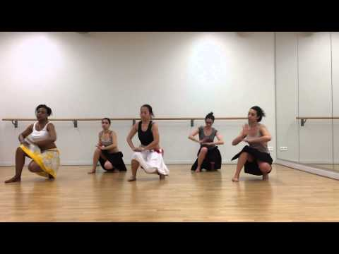 School of Ori Tahiti - Tahia Cambet - Paris 2015 (choreography mixed level)