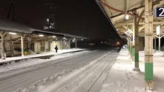 遠軽駅の特急オホーツク