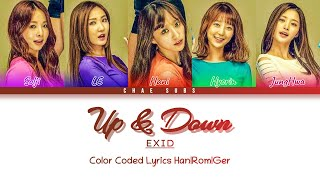 EXID (이엑스아이디) – Up & Down (위아래) - Deutsch | Ger Sub | Ge…