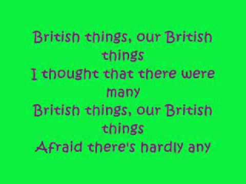 Horrible Histories: British Things Lyrics